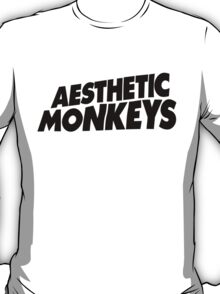 """AESTHETIC MONKEYS"" DESIGN T-Shirt"