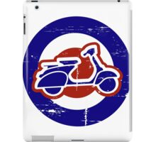 Weathered Mod Target and Scooter  iPad Case/Skin