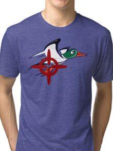 Duck Hunt - Duck James Tri-blend T-Shirt