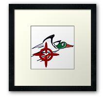 Duck Hunt - Duck James Framed Print