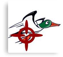 Duck Hunt - Duck James Canvas Print