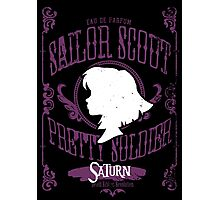 Saturn - Death Ribbon Revolution Photographic Print