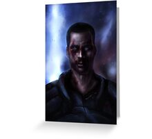 Mass Effect: Commander Shepard Greeting Card