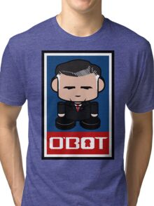 Mitt Romneybot Toy Robot 1.1 Tri-blend T-Shirt
