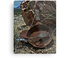 The Miner's Kitchen Metal Print
