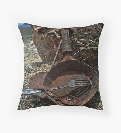 The Miner's Kitchen Throw Pillow