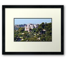 Magnificent castle Framed Print