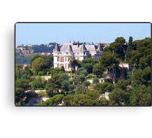 Magnificent castle Canvas Print
