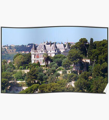 Magnificent castle Poster