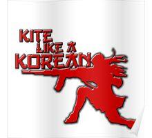 Kite Like a Korean Poster