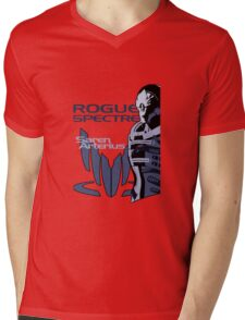 Mass Effect: Saren Arterius Mens V-Neck T-Shirt