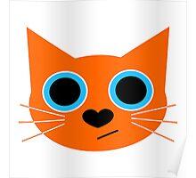 Catberry.js Framework Logo Poster