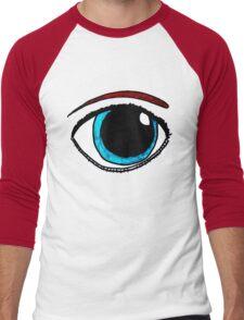 Eye Am Watching You Men's Baseball ¾ T-Shirt