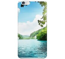 Image of a green lagoon iPhone Case/Skin