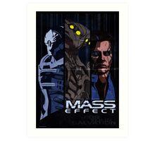 Mass Effect: Villains Art Print