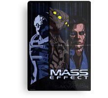Mass Effect: Villains Metal Print