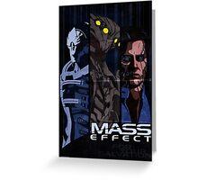 Mass Effect: Villains Greeting Card
