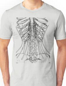Corset Bones Unisex T-Shirt
