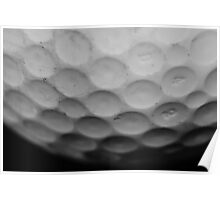 Golf Ball Poster