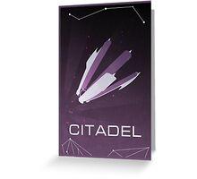 Mass Effect: Citadel Greeting Card