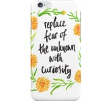 Curious Calendula iPhone Case/Skin