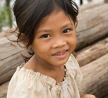 Girl at Kompong Kleang #1 by Adrianne Yzerman