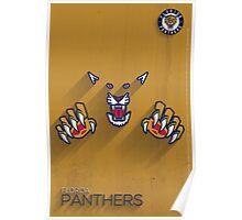 Florida Panthers Minimalist Print Poster