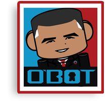 Renegade O'bamabot Toy Robot 1.2 Canvas Print