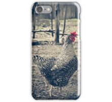 Through the Barb Wire Fence - Sally iPhone Case/Skin