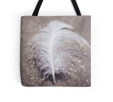 Like a Feather on the Wind Tote Bag