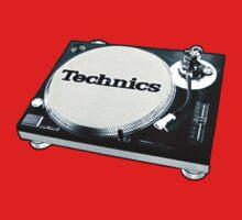Technics 1200 Vintage  One Piece - Long Sleeve