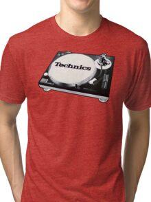 Technics 1200 Vintage  Tri-blend T-Shirt