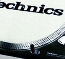 Technics 1200 Vintage  Sticker