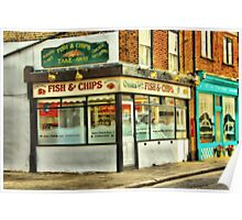 Fish n Chips Poster