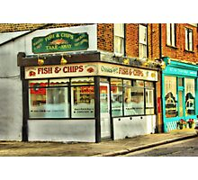Fish n Chips Photographic Print
