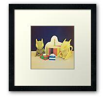 Birthday Dragons Framed Print