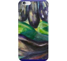 Eggplants Green Peppers iPhone Case/Skin