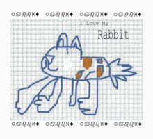 I Love My Rabbit by Morgan5
