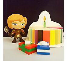 Tyrion Birthday Photographic Print