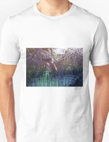 lavender fence sitting T-Shirt