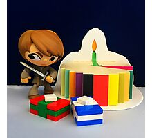 Arya Birthday Photographic Print