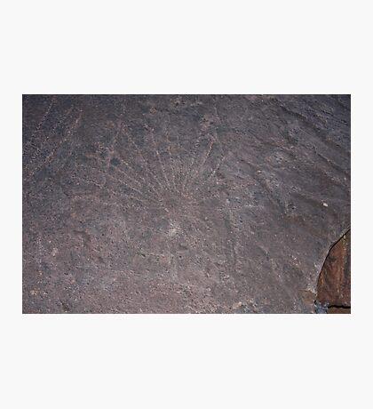 Aboriginal Petroglyphs Photographic Print