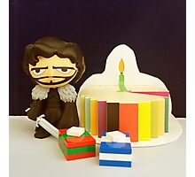 Jon Snow Birthday Photographic Print