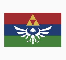 Hyrule Flag Kids Tee
