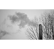 Air pollution Photographic Print