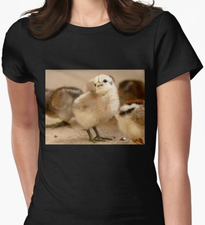 I'm Posing - Chick - NZ Womens Fitted T-Shirt