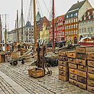 Fish crates in Nyhavn by © Kira Bodensted