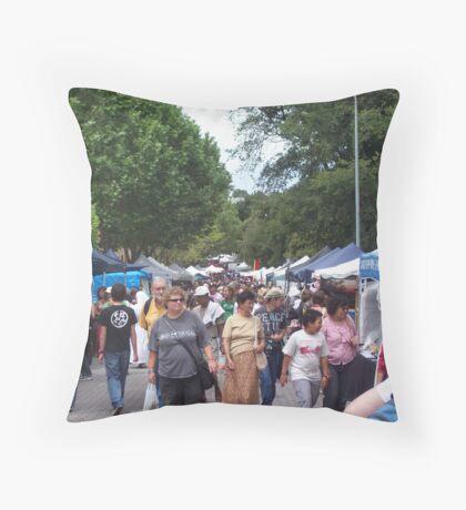 Salamanca Market Place  Throw Pillow