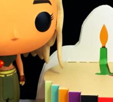 Daenerys Birthday Sticker