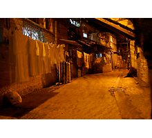 Laundry in Jerusalem Photographic Print